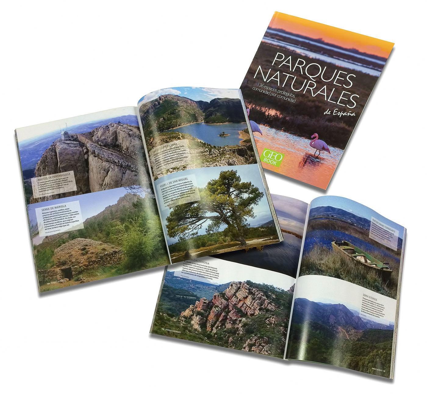 Publicacion GEO BOOK Parques Naturales de España