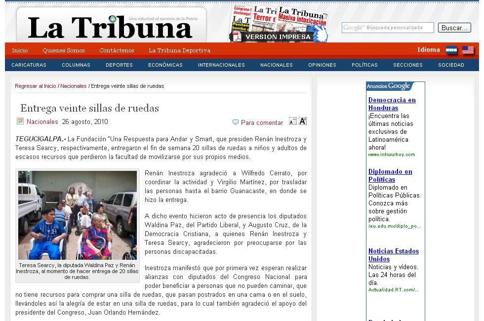 Teresa Searcy And Smart Medical Teams In Honduras Autos Post