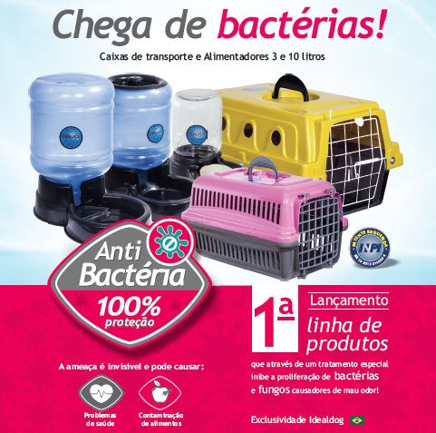 Linha Anti Bactérias