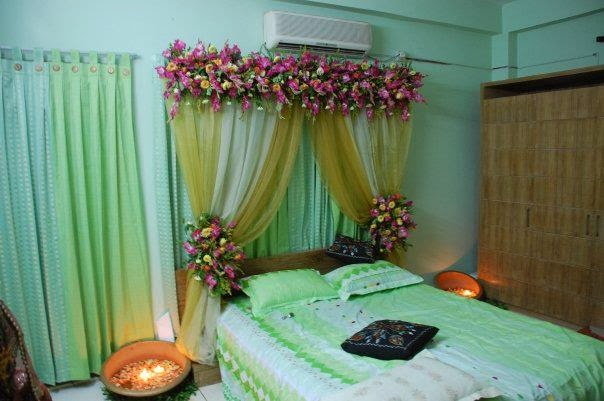 Bridal room decoration latest ideas 2014
