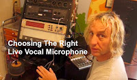 Choose the right live vocal mic image