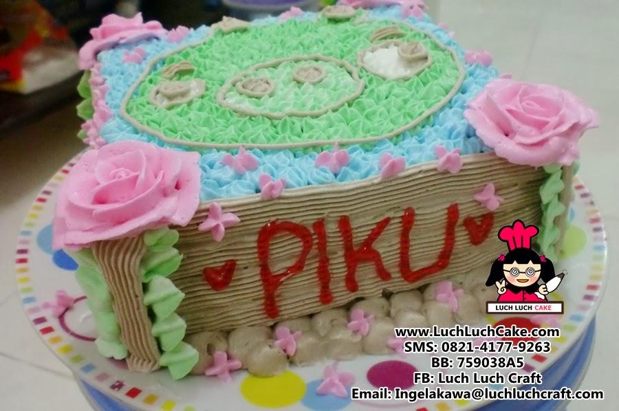 Kue Tart Angry Bird Babi Daerah Surabaya dan Sidoarajo