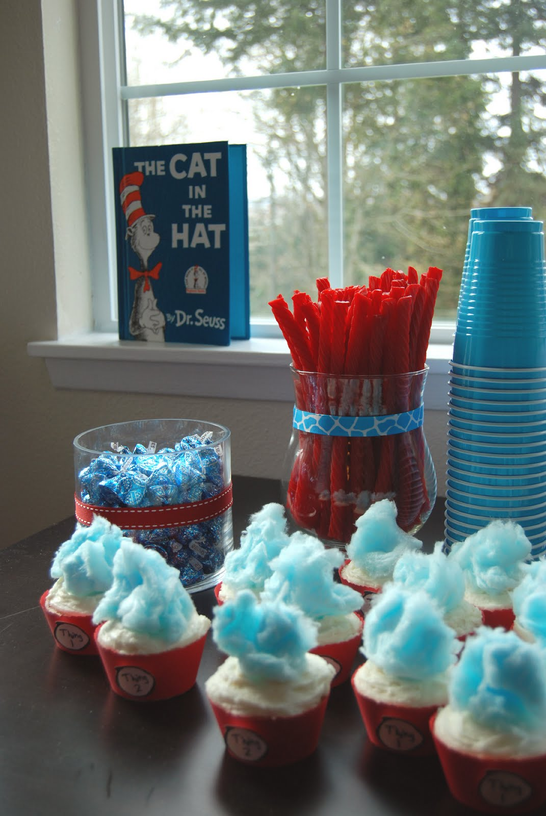 nap time crafts baby shower cat in the hat style
