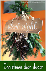 diy silent night sign