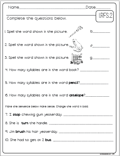 Common Core Language Arts Assessment Pack Grade 1 - The ...