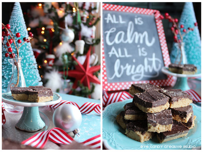 christmas tree, holiday party desserts, nestle toll house holiday recipes