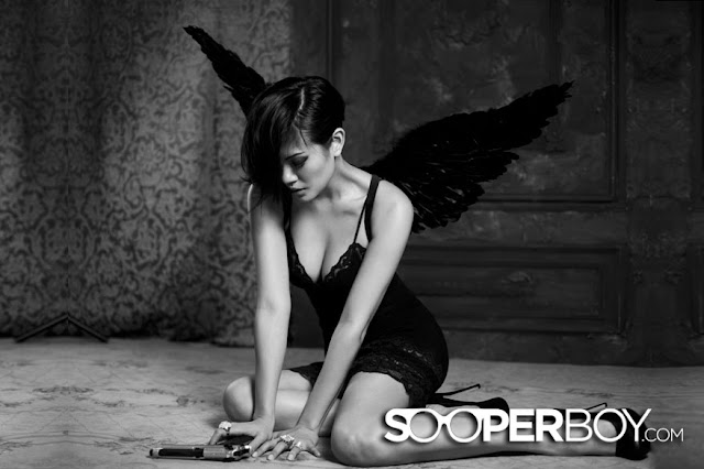 hot Aline Adita for Sooperboy, March 2013