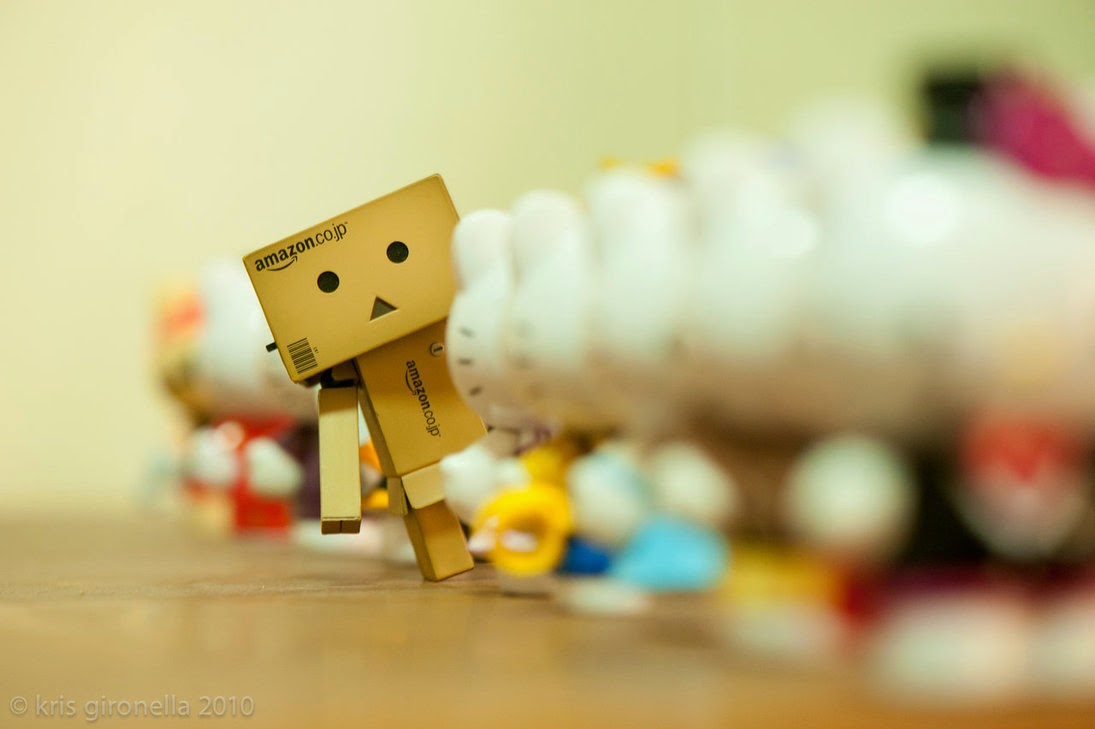 Wallpaper Danbo Lucu