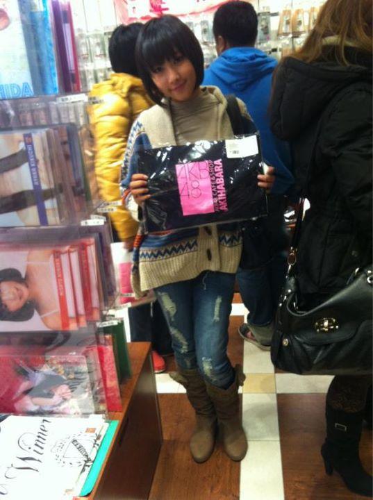 Dhike JKT48 at japan