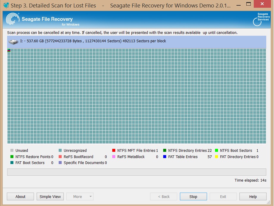 how to use seagate file recovery
