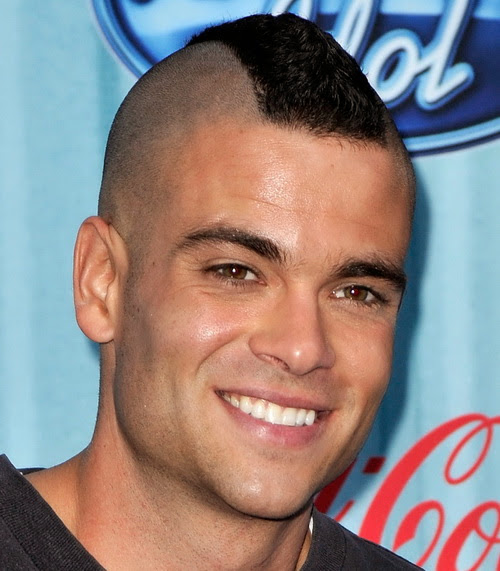 short mohawk haircut model popular