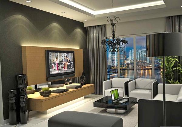 modern ruang tamu kontemporer ruang tamu minimalis dan
