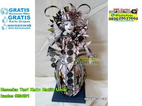 Boneka Tari Kain Batik Unik
