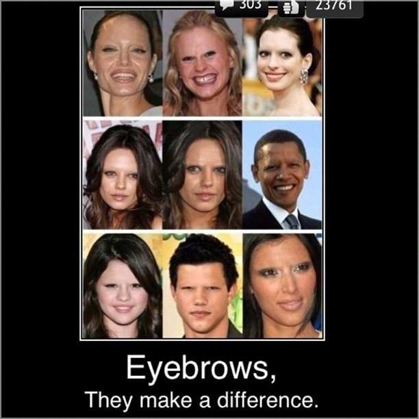 Just Eyebrows...
