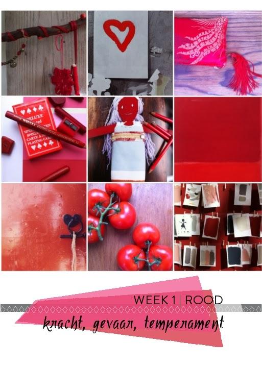 Interieur kleur inspiratie | week 1 ROOD