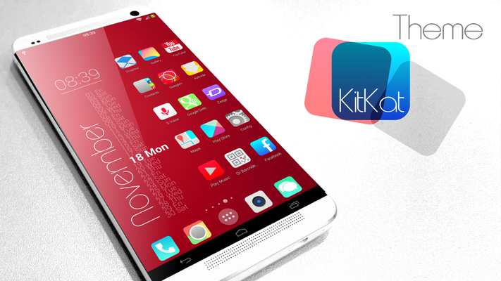 KitKat HD Launcher Themes Icon Apk