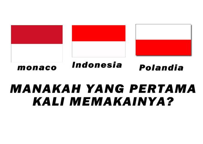 3 Negara dengan bendera yang sama, siapakah yang pertama