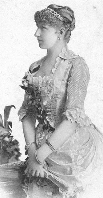 Stephanie Clotilde Louise Hermine Marie Charlotte von Belgien Kronprinzessin von Österreich-Ungarn.