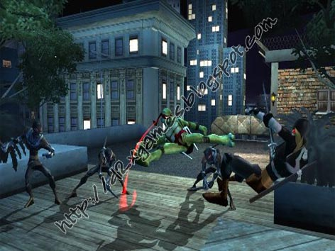 Free Download Games - Teenage Mutant Ninja Turtles 2007
