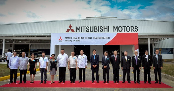 Mitsubishi Motors Philippines inaugurates its new Sta. Rosa, Laguna Plant