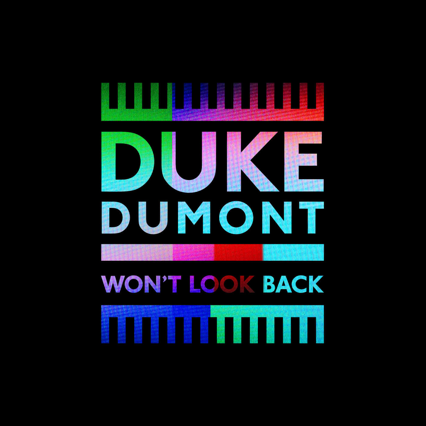 Duke Dumont - Won't Look Back - Single (Radio Edit) Cover