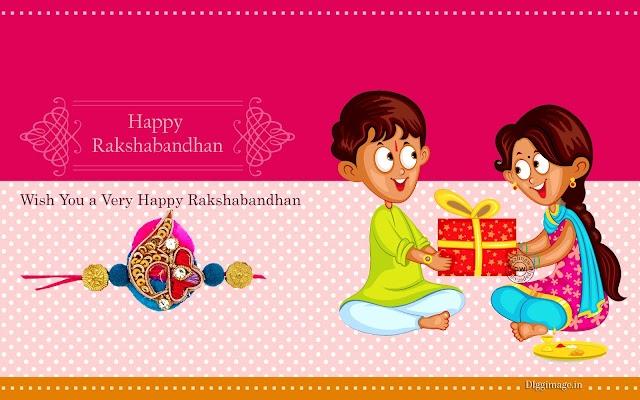 Phoolon ka taron ka sabka kehna hain, Ek hazaron main meri Behna hain. Wish you a Happy Rakhi.