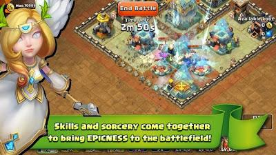 تحميل لعبة Castle Clash APK 1.1.9 افضل لعبة استراتيجية للاندرويد والهواتف الذكية