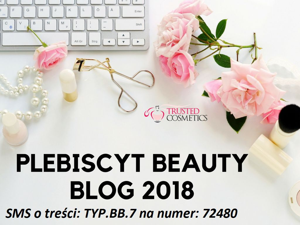Mój blog został nominowany do plebiscytu BEAUTY BLOG 2018 !