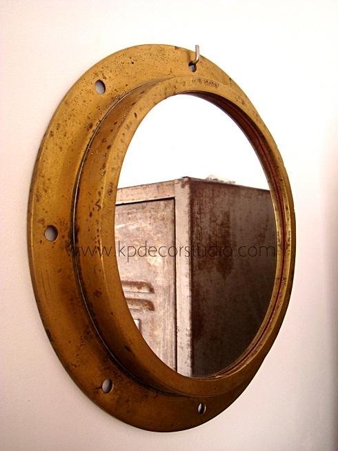 Kp tienda vintage online espejo vintage de bronce vintage bronze mirror - Espejos vintage ...