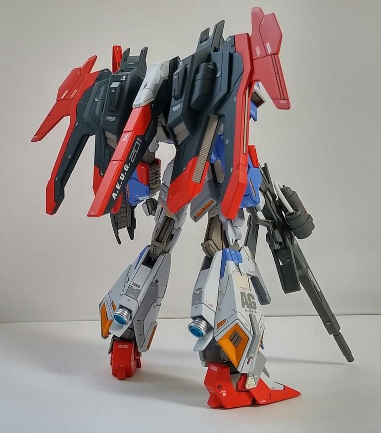 HG Build Fighters Lightning Zeta Gundam Real Grade Version