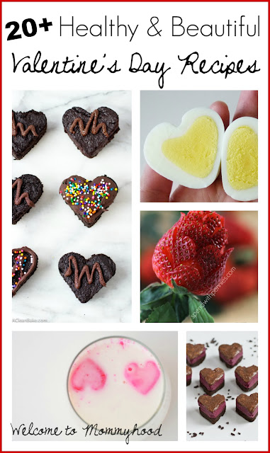 20+ healthy recipes for Valentines's Day #valentinesday, #healthyrecipes, #valentinesdayrecipes