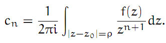 Complex Analysis: #15 The Laurent Series equation pic 9