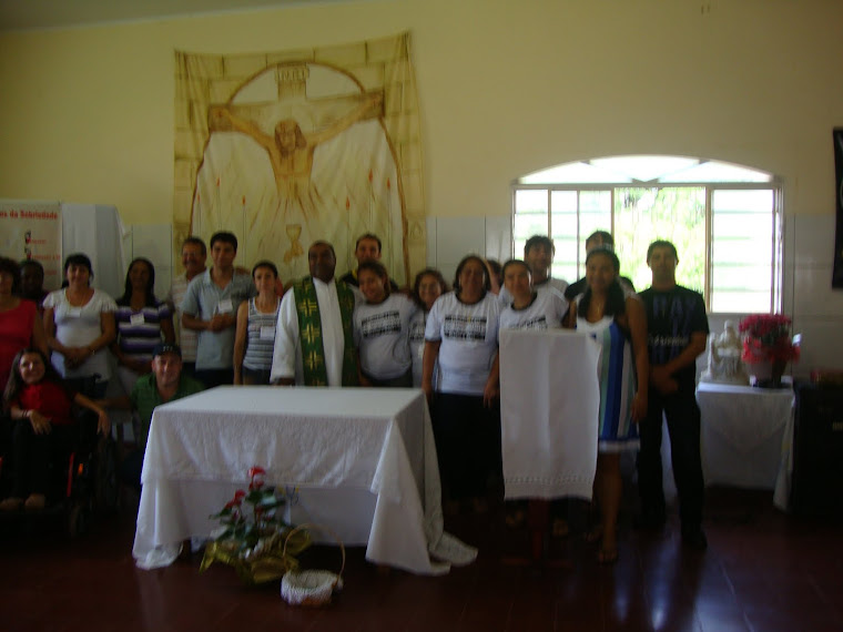 missa de formação em Valparaiso-SP