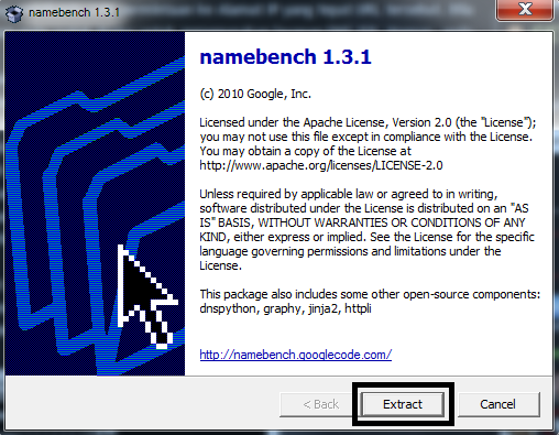 Extract namebench 1.3.1