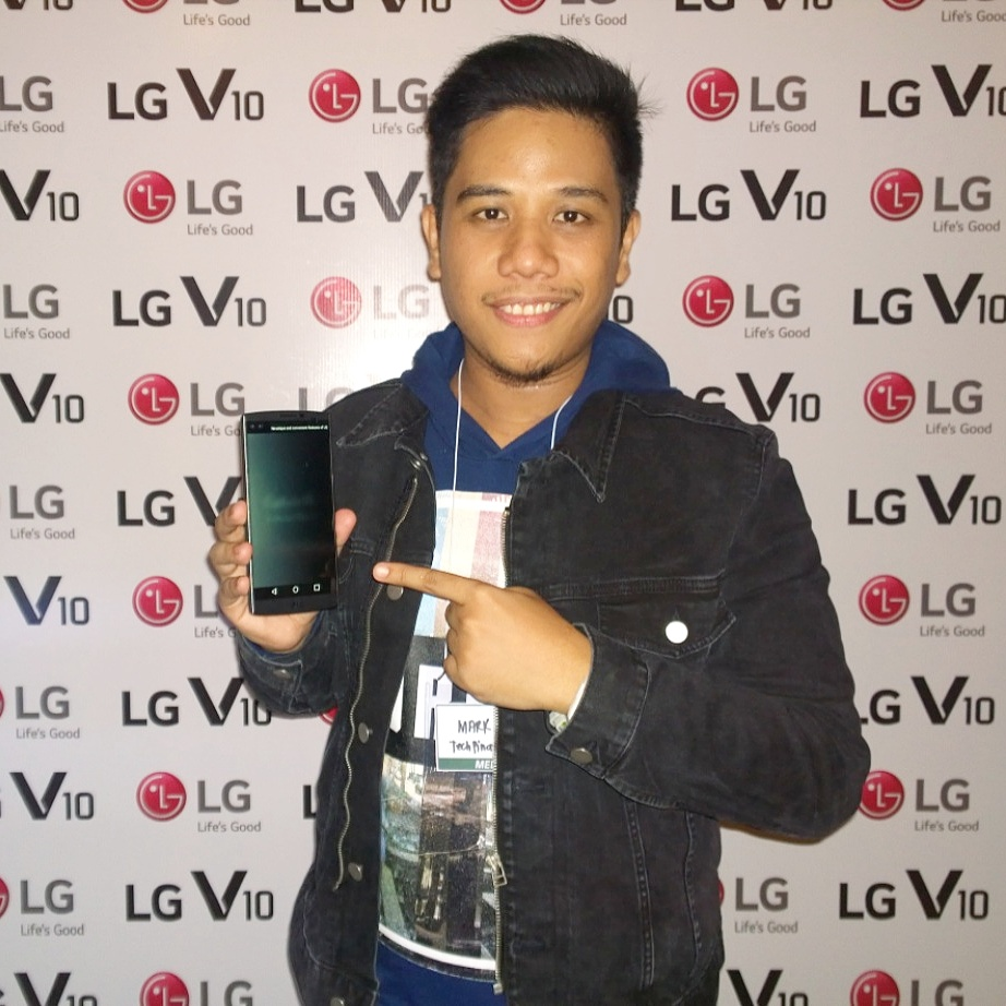 LG V10 Philippines, Mark Milan Macanas