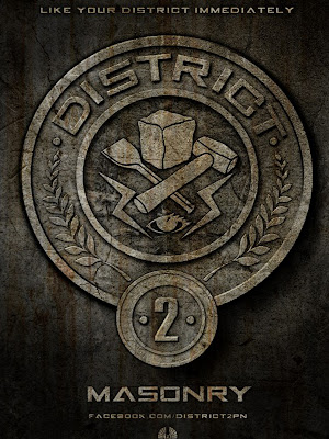 The Hunger Games District 2 Masonry Poster
