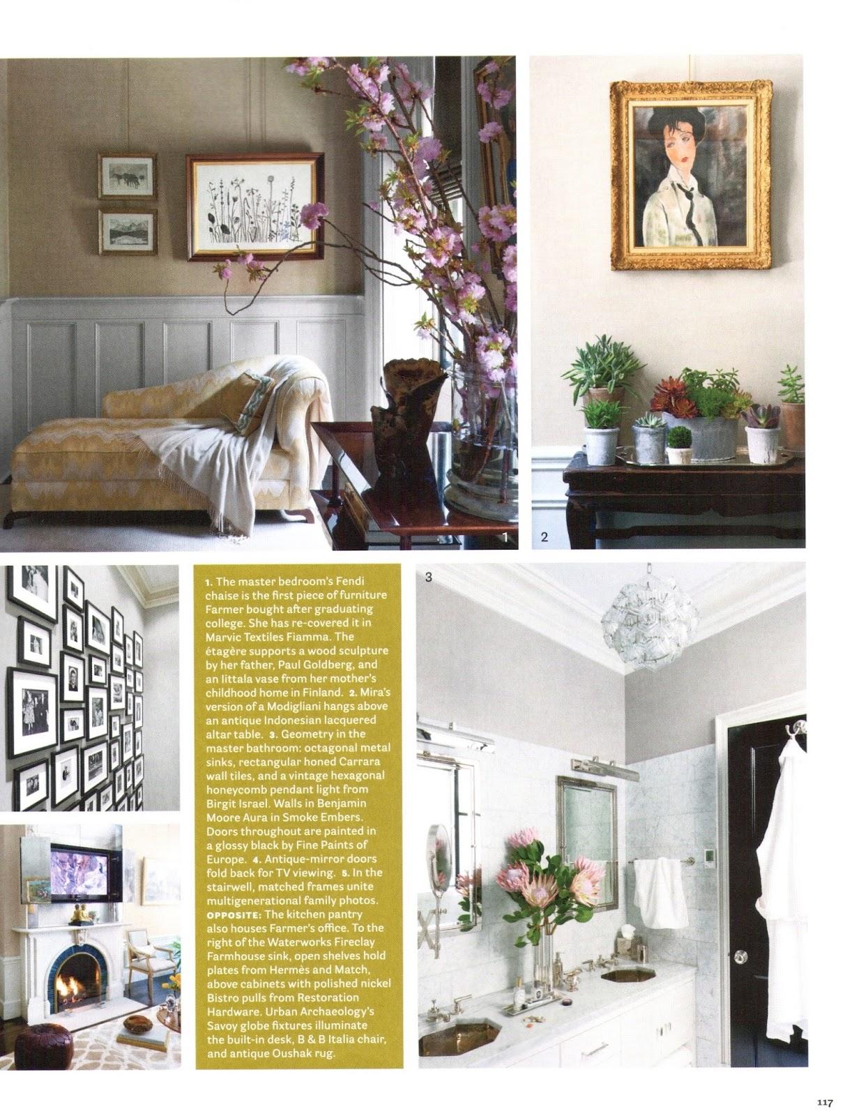 Nina Farmer Interiors House Beautiful March 2014