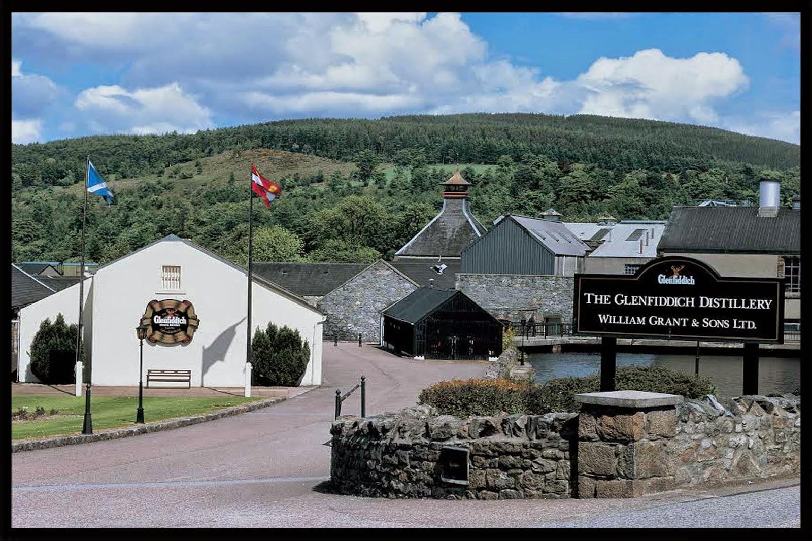 Destilería Glenfiddich