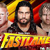 Wallpaper » WWE Fastlane Wallpaper (Feat. Dean Ambrose,Brock Lesnar & Roman Reigns)