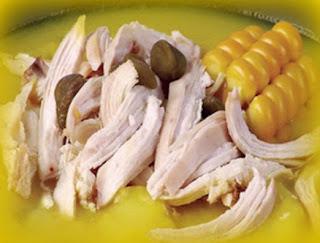 Ajiaco de pollo