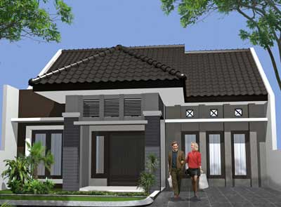 Desain Rumah Minimalis Modern dan Sederhana