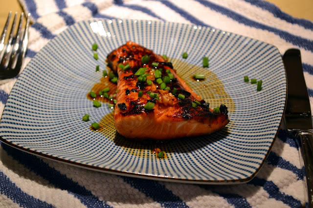 Homemade Salmon Teriyaki