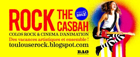 colo musicale et cinéma ROCK THE CASBAH