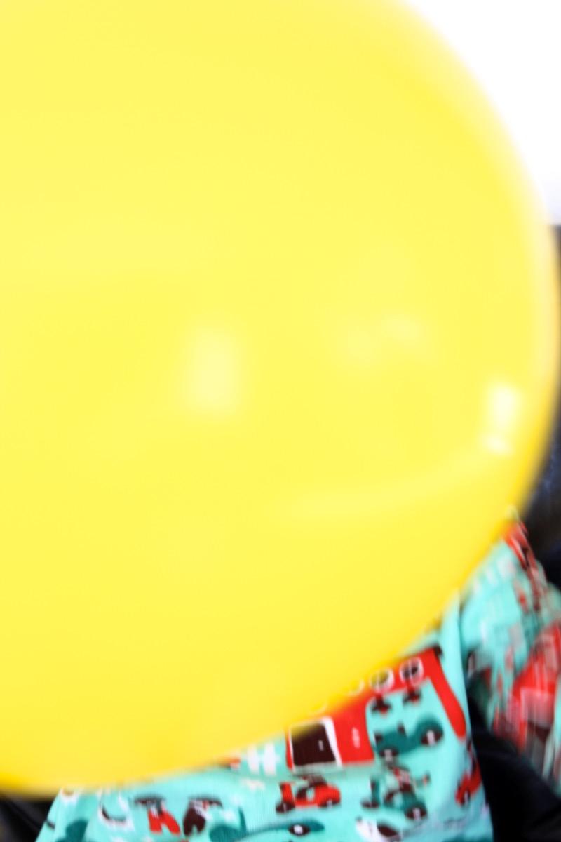 Keltainen ilmapallo