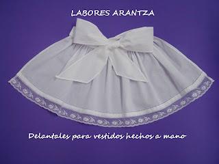 Delantales para vestidos