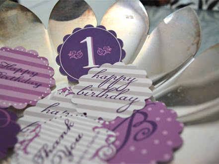 Custom Design for First Birthday Party