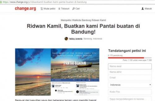 Pantai Buatan Bandung