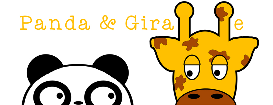 Panda and Giraffe