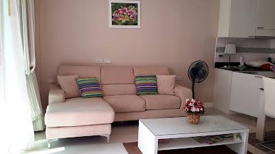 living room in Jomtien Paradise