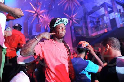 fotos de lil wayne busta rhymes mack maine t-streets marley g kelly rowland en el club liv